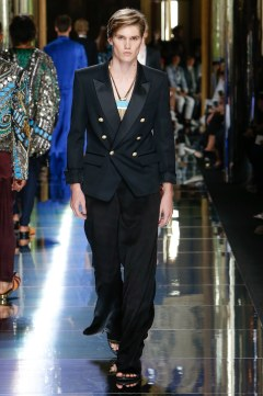Balmain Spring 2017 Menswear Look 72