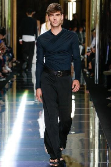 Balmain Spring 2017 Menswear Look 77