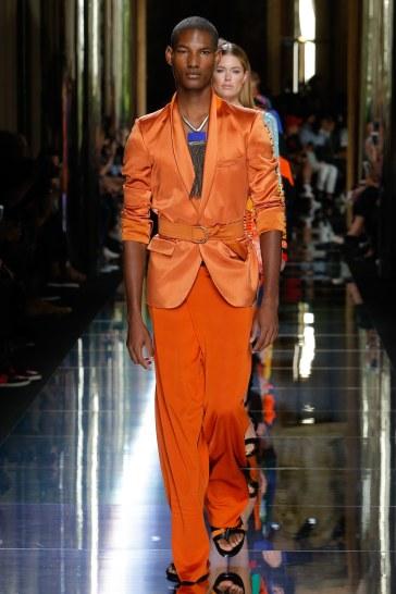 Balmain Spring 2017 Menswear Look 80