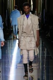 Balmain Spring 2017 Menswear Look 9