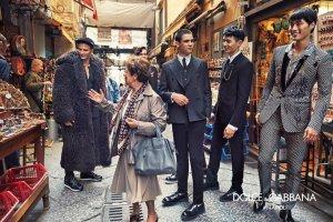 Dolce & Gabbana Fall 2016 Menswear Campaign -2016.6.14-
