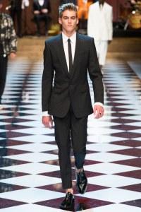 Dolce & Gabbana Spring 2017 Menswear Look 1