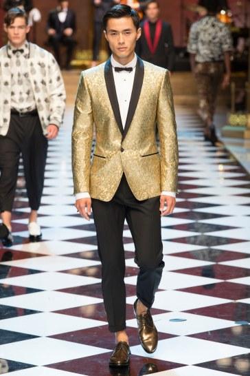 Dolce & Gabbana Spring 2017 Menswear Look 13