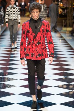 Dolce & Gabbana Spring 2017 Menswear Look 19