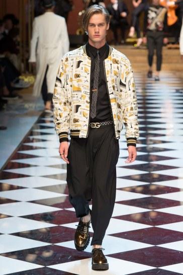 Dolce & Gabbana Spring 2017 Menswear Look 38