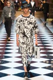 Dolce & Gabbana Spring 2017 Menswear Look 4