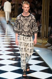 Dolce & Gabbana Spring 2017 Menswear Look 42