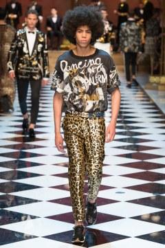 Dolce & Gabbana Spring 2017 Menswear Look 46