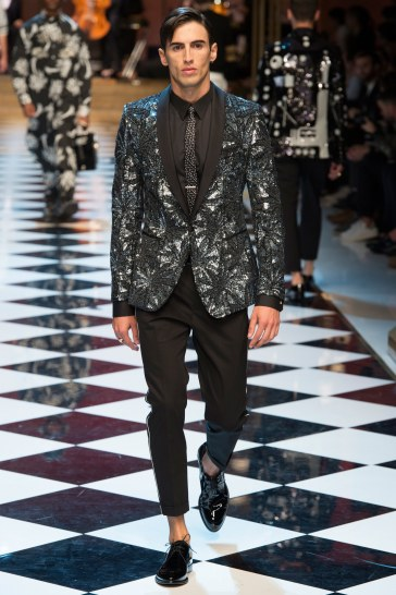 Dolce & Gabbana Spring 2017 Menswear Look 51