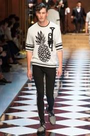 Dolce & Gabbana Spring 2017 Menswear Look 53