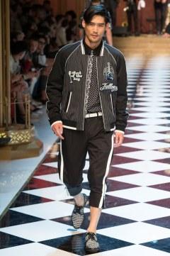 Dolce & Gabbana Spring 2017 Menswear Look 59