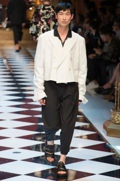 Dolce & Gabbana Spring 2017 Menswear Look 72
