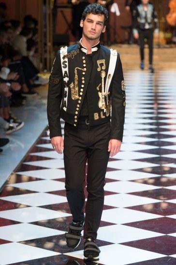 Dolce & Gabbana Spring 2017 Menswear Look 77