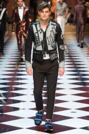 Dolce & Gabbana Spring 2017 Menswear Look 79