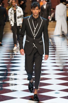 Dolce & Gabbana Spring 2017 Menswear Look 85