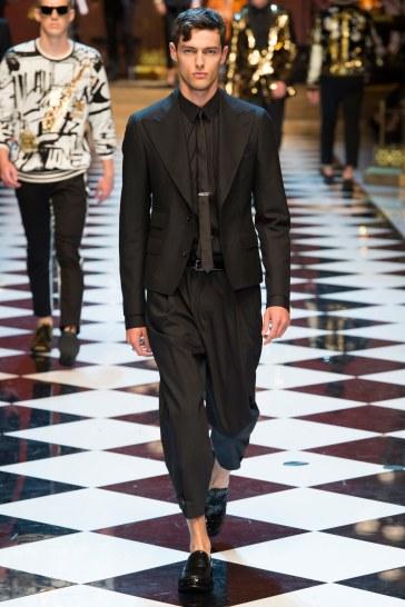Dolce & Gabbana Spring 2017 Menswear Look 91