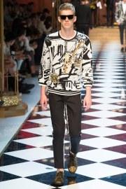 Dolce & Gabbana Spring 2017 Menswear Look 92