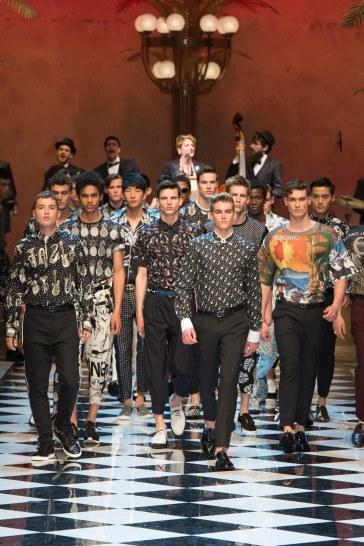 Dolce & Gabbana Spring 2017 Menswear Look 98