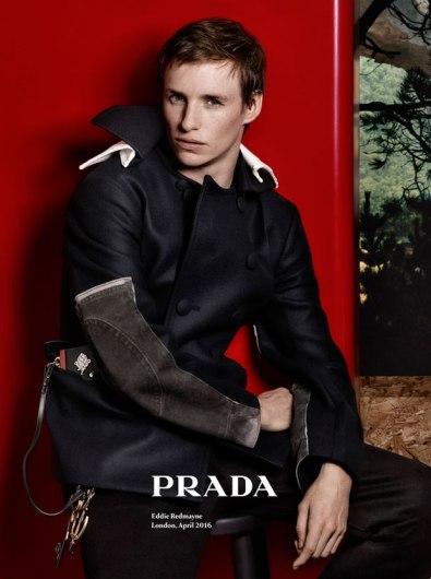 Eddie Redmayne Prada Fall 2016 Campaign-1