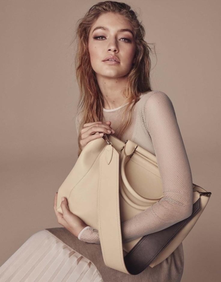 Gigi Hadid Max Mara Fall 2016 Accessories Campaign-1