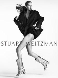 Gigi Hadid X Stuart Weitzman Fall 2016 Campaign -2016.6.15-