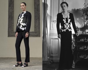 Givenchy Resort 2017 vs. Schiaparelli Summer 1937 -2016.6.11-