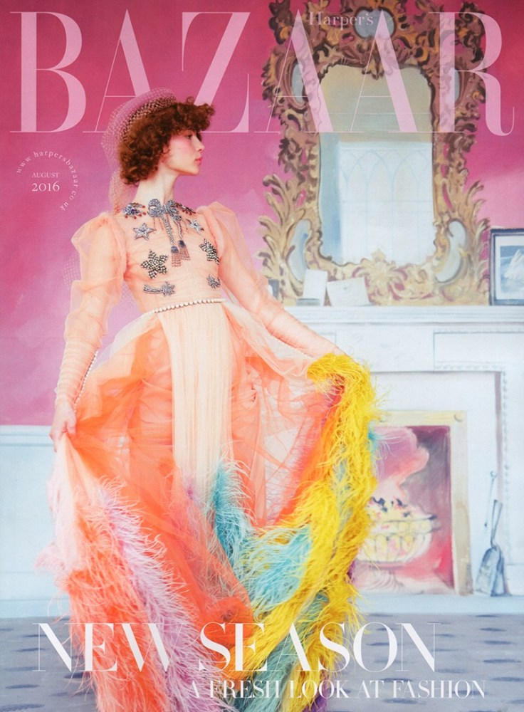 Harper's Bazaar UK August 2016 Cover