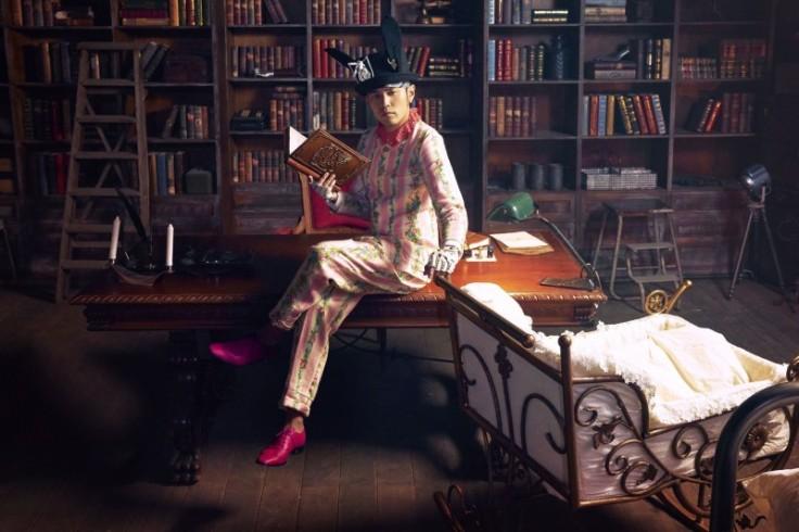 Jay Chou in Gucci Spring 2016 Menswear-1