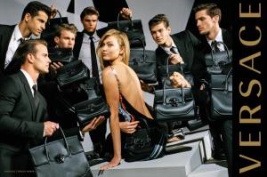 Karlie Kloss & Gigi Hadid X Versace Fall 2016 Campaign -2016.6.4-