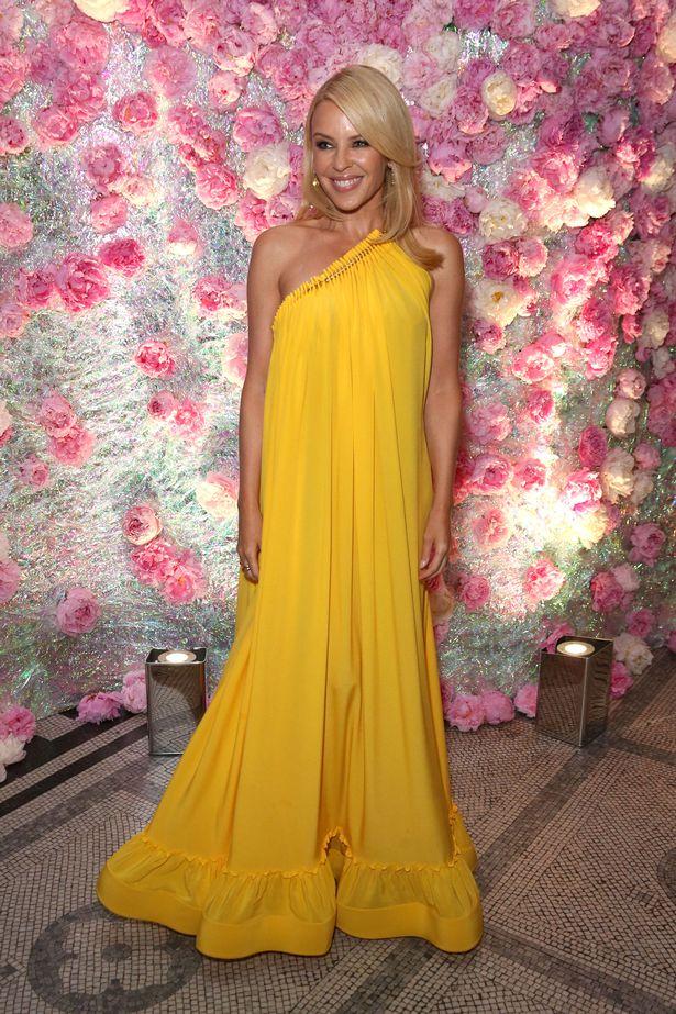 Kylie Minogue in Stella McCartney Resort 2016