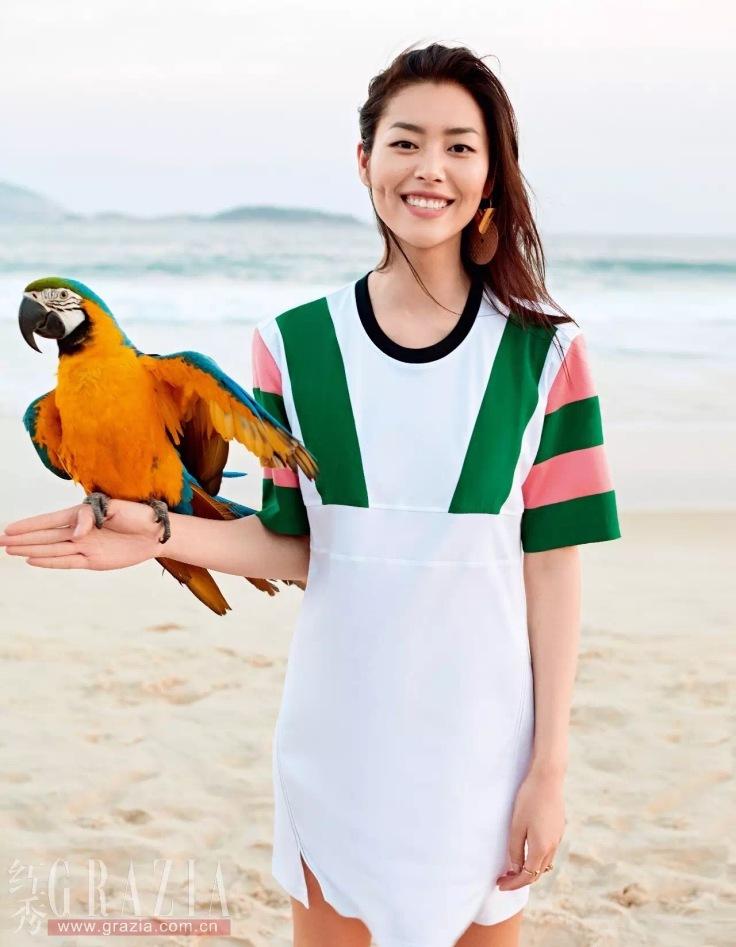 Liu Wen Grazia China June 2016-1