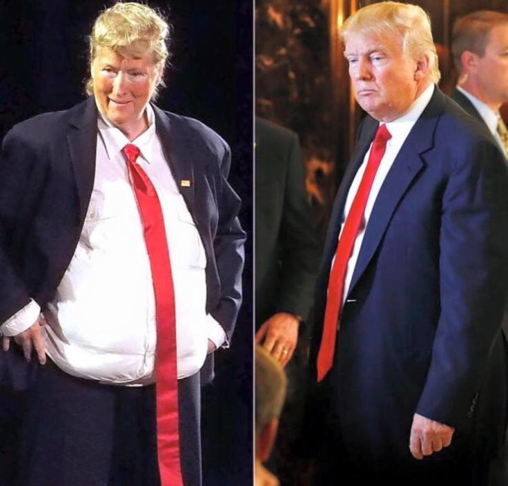 Meryl Streep as Donald Trump-1