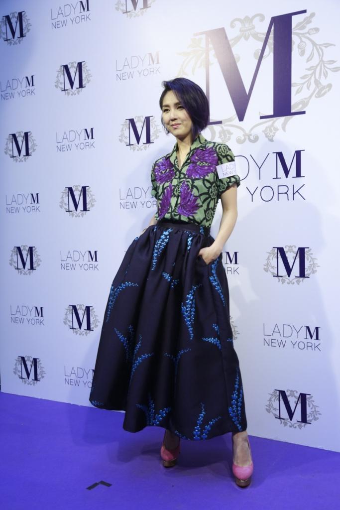 Miriam Yeung in Dries van Noten Spring 2016
