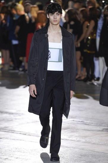 Raf Simons Spring 2017 Menswear Look 12