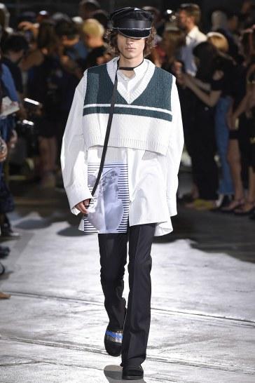 Raf Simons Spring 2017 Menswear Look 13