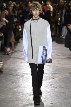Raf Simons Spring 2017 Menswear Look 5