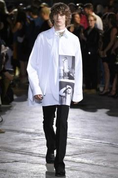 Raf Simons Spring 2017 Menswear Look 6
