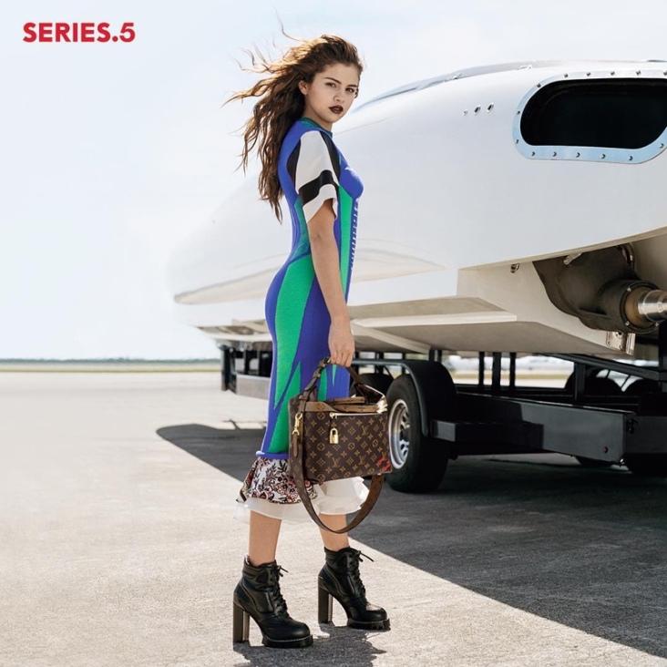 Selena Gomez Louis Vuitton Fall 2016 Campaign-1