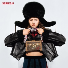 Selena Gomez Louis Vuitton Fall 2016 Campaign