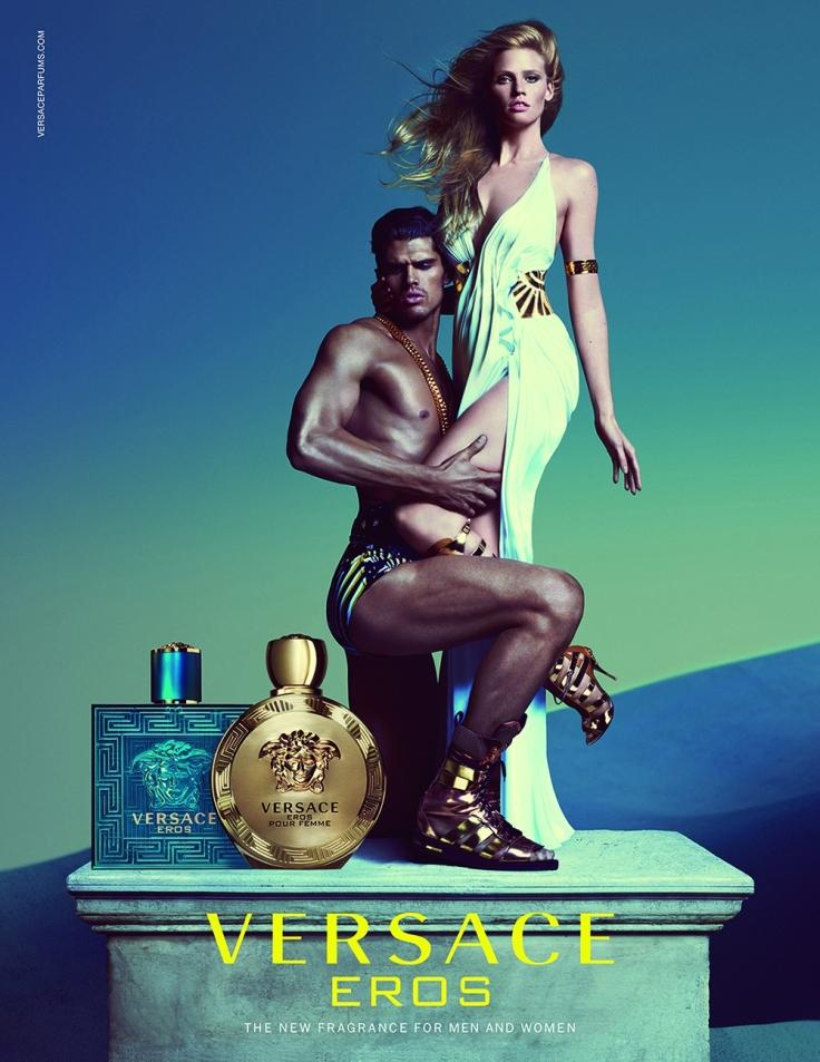Versace Eros Fragrance Campaign