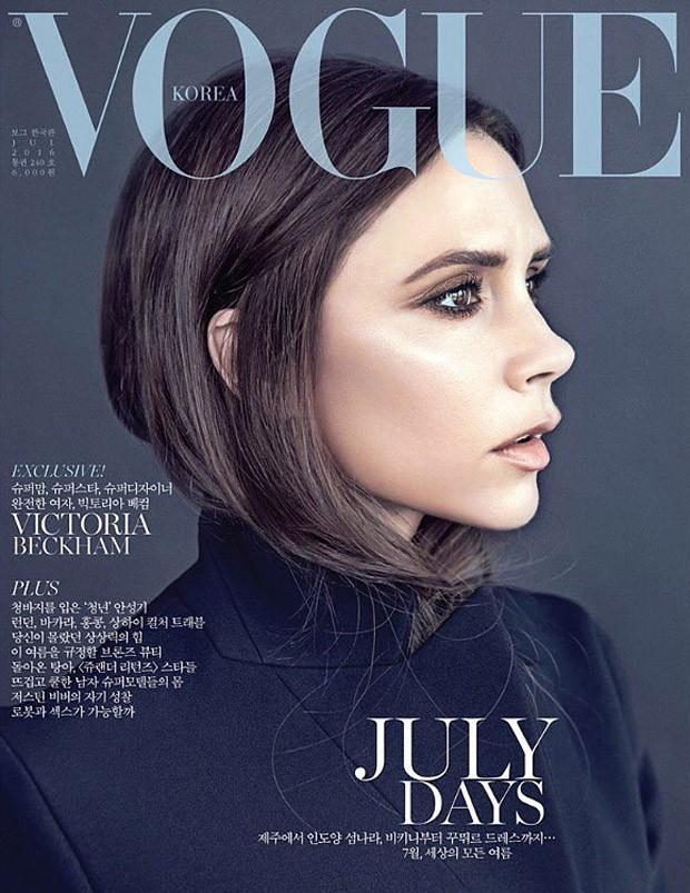 Victoria Beckham Vogue Korea July 2016 Cover