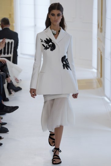 Christian Dior Fall 2016 Couture Look 12