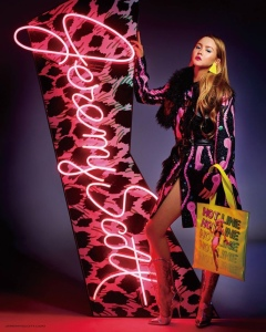 Devon Aoki X Jeremy Scott Fall 2016 Campaign -2016.7.9-