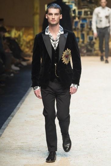 Dolce & Gabbana Fall 2016 Menswear