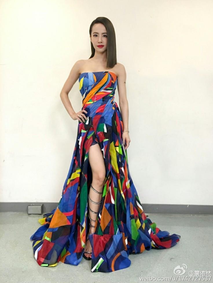 Jolin Tsai in Ralph Lauren Spring 2016