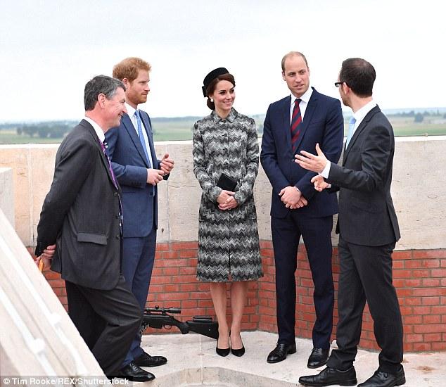 Kate Middleton in Missoni