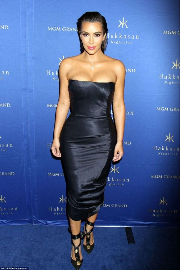 Kim Kardashian in Vintage John Galliano