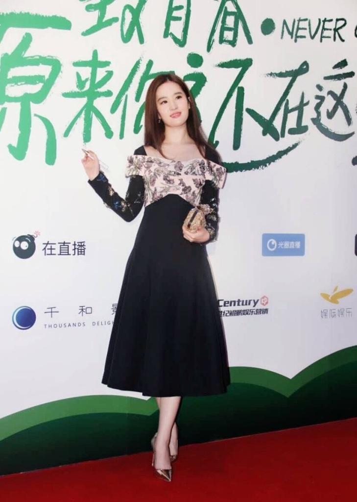 Liu YiFei in Dior Fall 2016-1