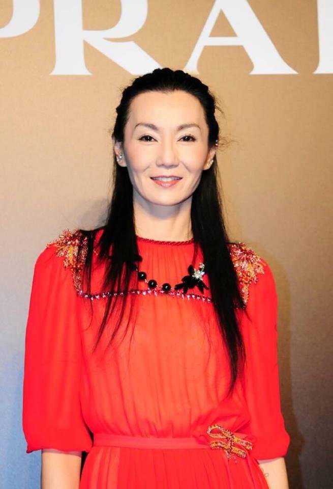 Maggie Cheung in Prada