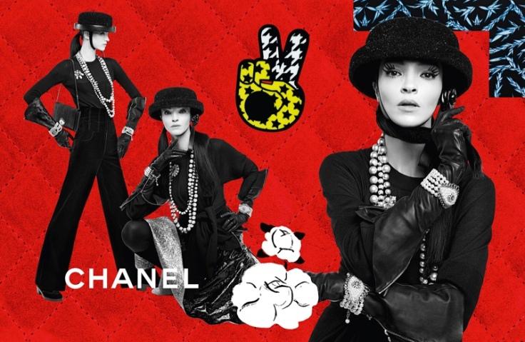 Mariacarla Boscono & Sarah Brannon Chanel Fall 2016 Campaign-1